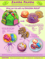 Unicorn Mold Product Sheet , Ideas