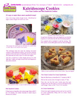 Kaleidoscope Cookie Demo Sheet