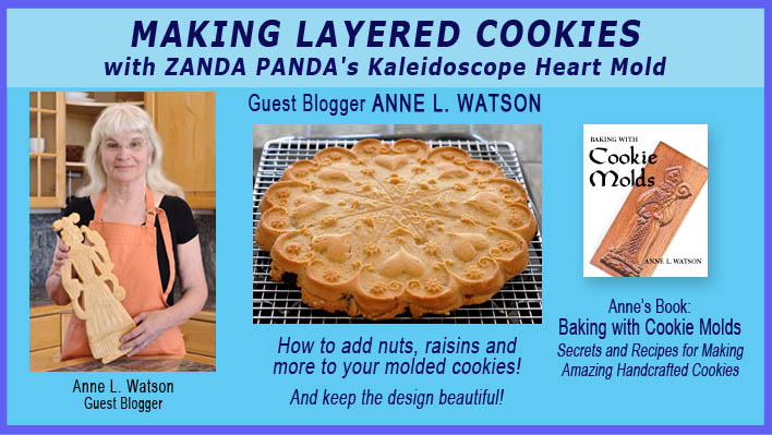 Molded Cookie Demo by Guest Blogger Anne L. Watson