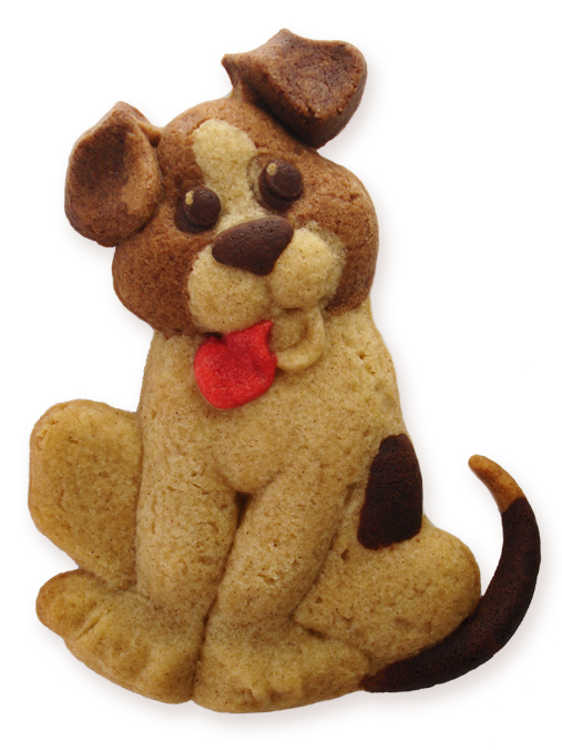 Beagle Puppy Cookie made with ZANDA PANDA's Puppy Mold