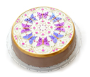 Kaleidoscope Butterfly Cake - Multicolored